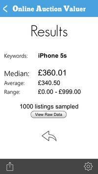 Online Auction Valuer apk screenshot