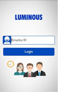 Luminous Employee App apk screenshot