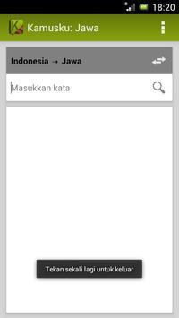Kamusku: Jawa (Indonesia) apk screenshot