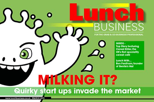 LUNCH BUSINESS poster
