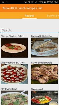 Lunch Recipes Full Complete apk screenshot