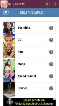 Sweet For BBM PIN apk screenshot