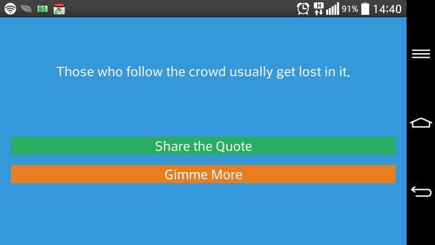 Inspirational Quotes to Share apk screenshot