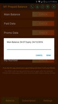 M1 Prepaid Balance Free apk screenshot