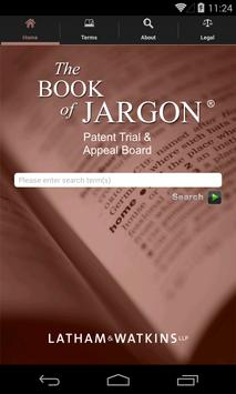 The Book of Jargon® - PTAB poster
