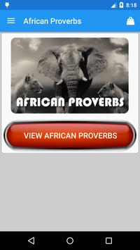 African Proverbs Collection poster