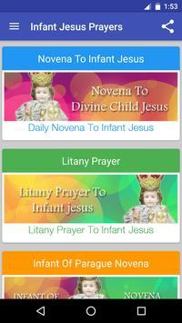 Infant Jesus Prayers poster