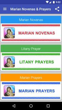 Marian Novena Prayers poster