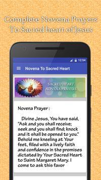 Sacred Heart Novena Prayers apk screenshot