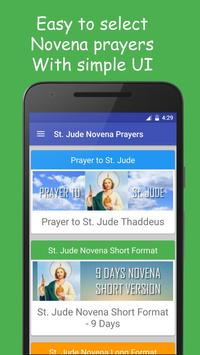 St Jude Novena Prayers poster