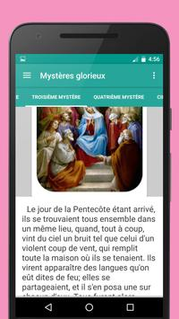 Saint Rosaire catholique apk screenshot