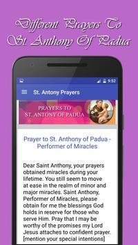 St Anthony Novena Prayers apk screenshot
