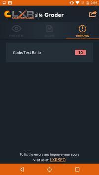 SEO Site Grader apk screenshot