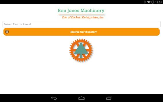 Ben Jones Machinery poster