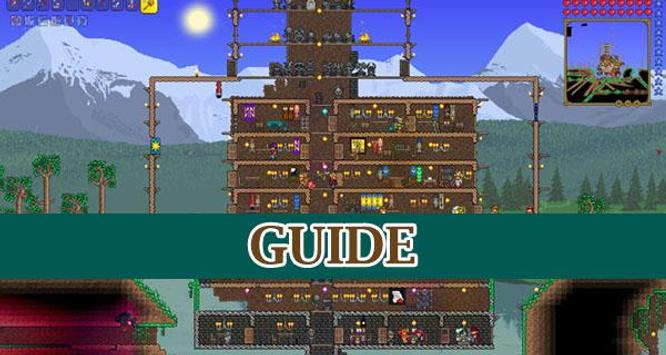 Guide for Terraria poster