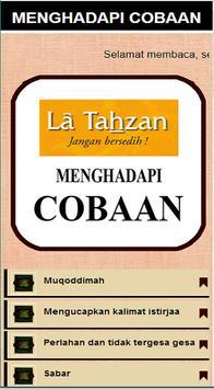 Laa Tahzan (Menghadapi Cobaan) poster