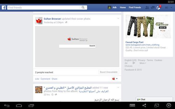 Browser Pro apk screenshot