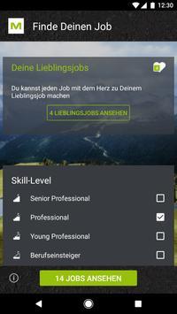 M Plan Job poster