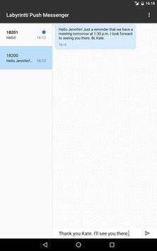 Labyrintti Push Messenger apk screenshot