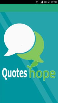 Quotes About Hope poster