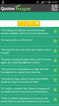 Quotes About Hope apk screenshot
