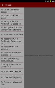 SS & OS Lab apk screenshot