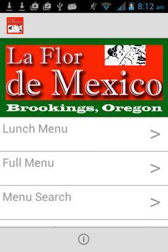 La Flor De Mexico poster