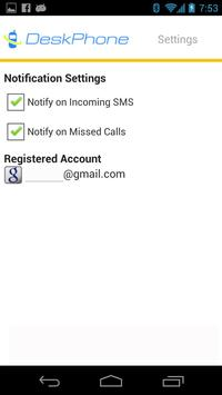 Deskphone - SMS on Desktop apk screenshot