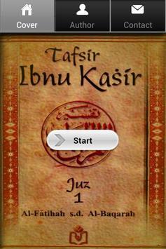 Tafsir Ibnu Katsir Juz 1 poster