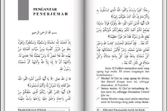 Rahasia Surat Al-Fatihah apk screenshot