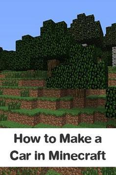 How to Make a Car in Minecraft apk screenshot