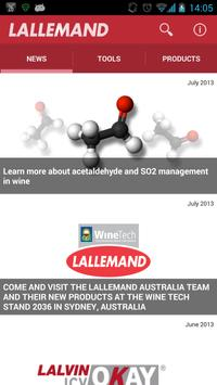 Lallemand Wine poster