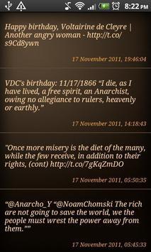 Voltairine Quotes apk screenshot
