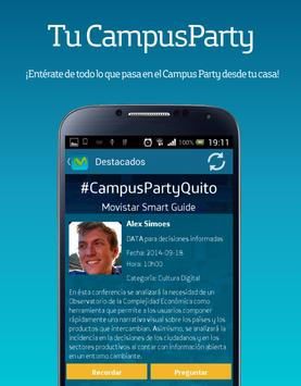 Campus Party Quito apk screenshot