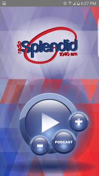 Radio Splendid poster