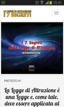 I 7 Segreti poster