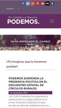 Podemos Castilla-La Mancha apk screenshot