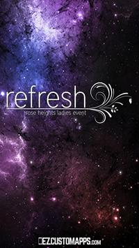 Refresh Conference poster