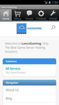 LancsGaming poster