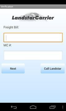 LandstarCarrier Mobile apk screenshot