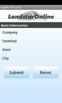LandstarOnline Mobile apk screenshot