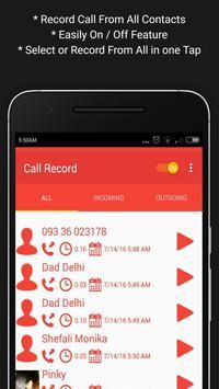 Call Record - Automatic Record apk screenshot