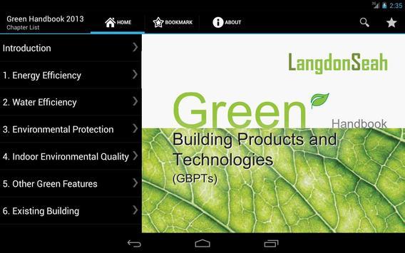 Green Handbook 2013 poster