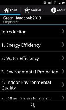 Green Handbook 2013 apk screenshot