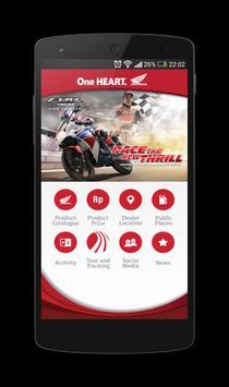 We Love Honda poster