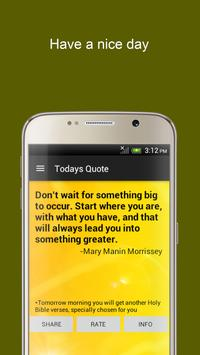 Motivation & Inspiration Quote apk screenshot