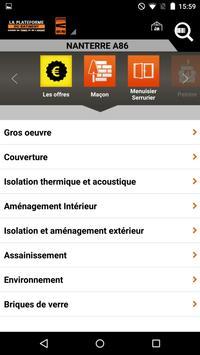La Plateforme du Bâtiment apk screenshot