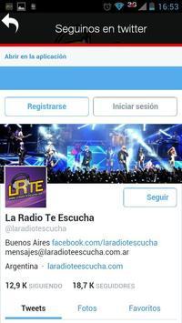 LA RADIO TE ESCUCHA apk screenshot