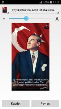 Ataturk Photos and Quotes poster