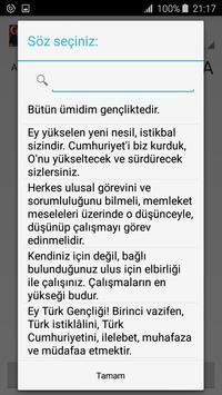 Ataturk Photos and Quotes apk screenshot